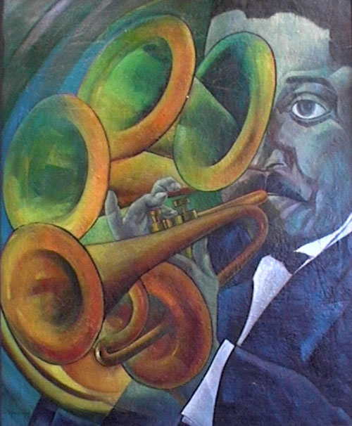 The Trumpeter by A.I. Delgado