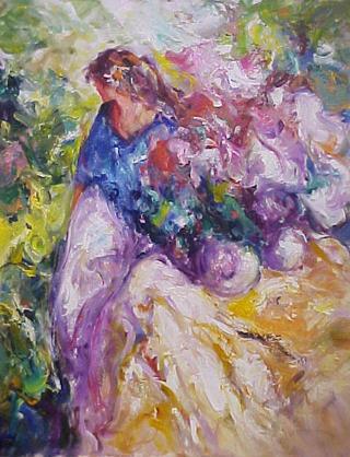 In the Garden by José Antonio Pineda Bueno
