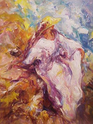 The White Dress by José Antonio Pineda Bueno