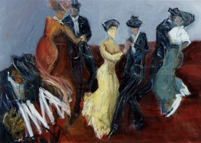 In Time to the Accordion by Ricardo Vivanco