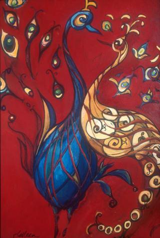 The Peacock Lovers by Kelleen Sullivan