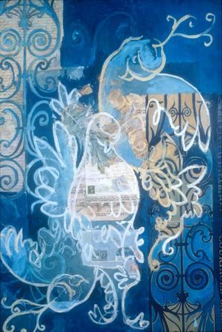 Blue Doves by Kelleen Sullivan