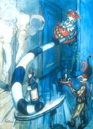 The Secret Behind the Open Door by Kelleen Sullivan