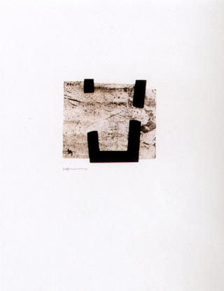 Escultura Chillida (from the A Peu Pel Llibre Portfolio) by Eduardo Chillida