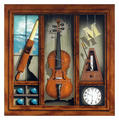 Music Box Violin by James Carter