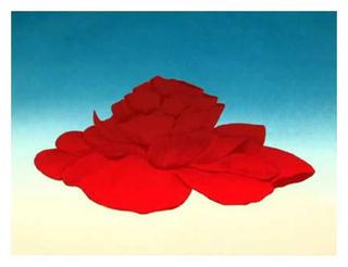 Begonia Flower by John Cedarstrom