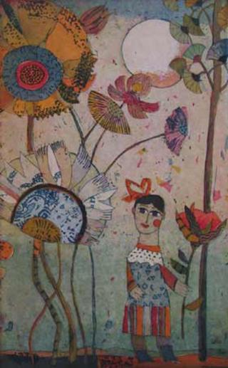 Blumenmädchen (Flower Girl) by Jutta Votteler