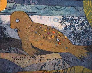 Robbe (Seal) by Jutta Votteler