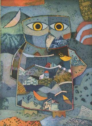 Eulentraum (Owl Dream) by Jutta Votteler