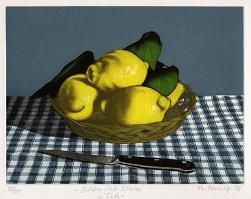 Stilleben mit Zitronen (Still Life with Lemons) by Michael Renninger
