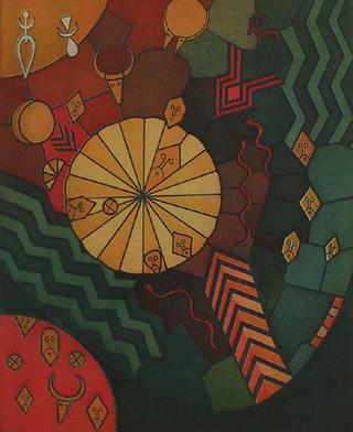 Sonnenrad (Sun wheel) by Reimund Franke