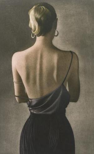 Rueckenakt 1999 (Nude Back 1999) by Willi Kissmer