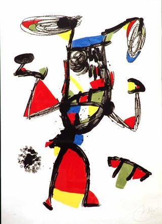 Majorette by Joan Miró