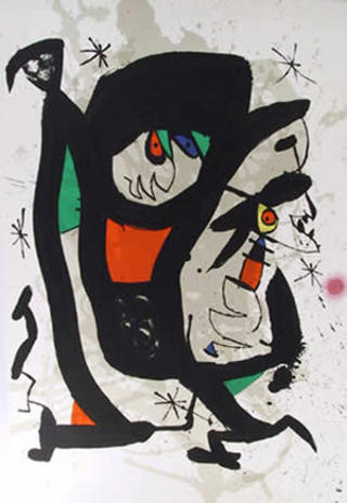 Young Artists by Joan Miró