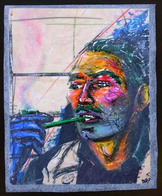 """Ever Meulen Portrait by Thierry  """"Deth"""" Delsart"""