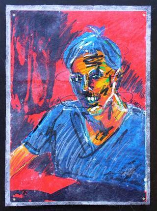 "Eric Steenmans Portrait by Thierry  ""Deth"" Delsart"