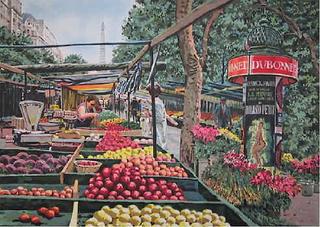 Paris Market by Joseph Correale