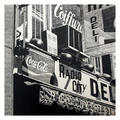 Radio City Deli by Robert Cottingham