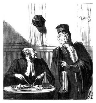 Law and Justice - Portfolio by Honoré Daumier