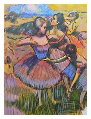 Homage to Degas by Wayne Ensrud