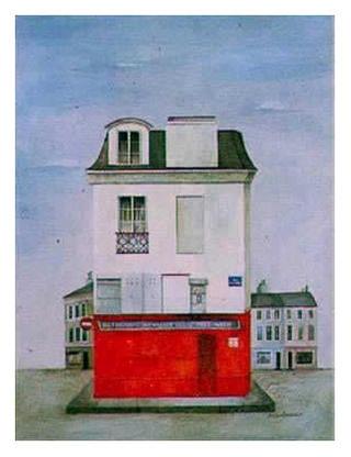 Restaurant au Vieux Paris by Mary Faulconer