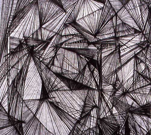 Dynamic Linear Structures Original Art by Emily Beza ...