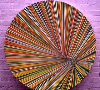 Orange Circle by Emily Beza