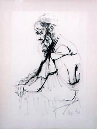 Rabbi by Moshe Gat