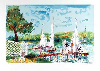 Sunday Sailing by Gicot