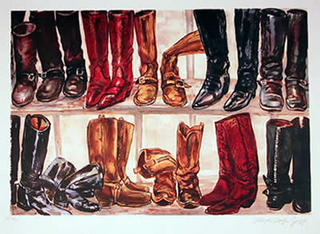Untitled - Boots by Lloyd Lozes Goff