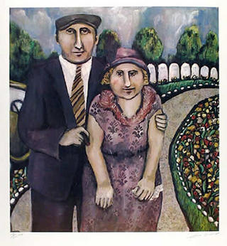 Jack & Mamie on the Road by Susan Gardener