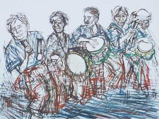 Drummers by Santi Thongsuk