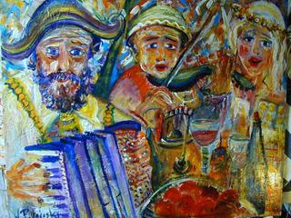 The Celebration by Witold Podgorski