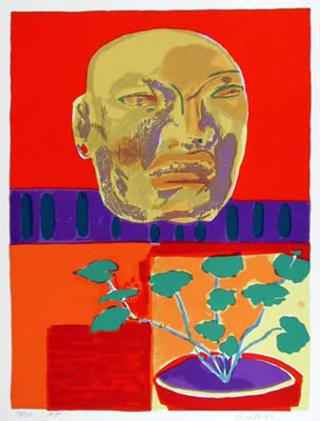Olmec Mask by John Grillo