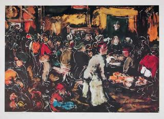 Homage to Brueghel by Bogdan Grom