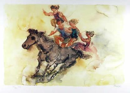 Bareback Rider by Chaim Gross