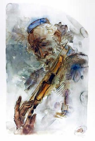 The Fiddler by Chaim Gross