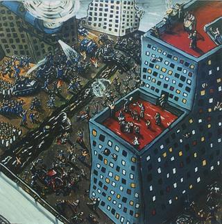 Evacuation in the Neighborhood by Omar Panosetti