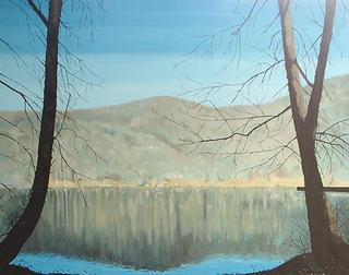 Montseny's Lake by Antonio Sanchez Cabello