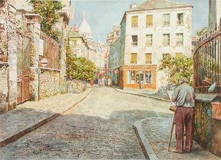 Montmartre Paris by Manuel Ferreira