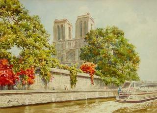 Notre Dame by Manuel Ferreira