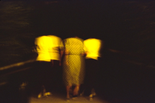 Getting into the Park (from the Series Paisajes Oscuros) by José Andrés Prieto