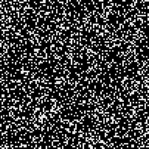 Bits in Whites by José Andrés Prieto