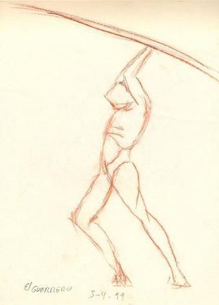 Warrior by Juan Manuel Castilla Delgado