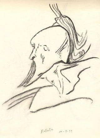 Portrait by Juan Manuel Castilla Delgado
