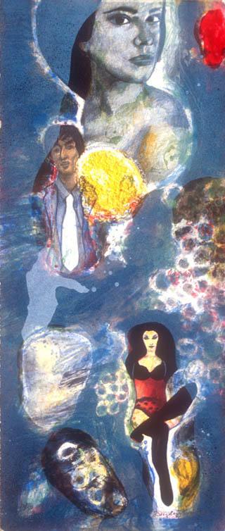 Untitled (Folder of Three Lithographs) by Diego López Granados