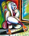 Girl at the Window by Raúl Cañestro
