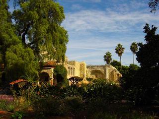 Mission San Juan Capistrano, California by Sandra Harper