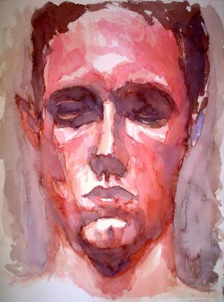 Contemplation in Carmine by Francisco Morales