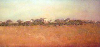Landscape by Francisco Rodriguez Lobo